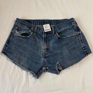 Levi's jean shorts Urban Renewal